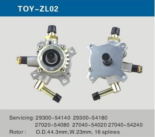 Automobile Spare Parts Auto Vacuum Pump For Toyota 3l Alternator