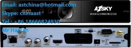 Azsky G6 Hd Dvb S2 Gprs Dongle Combo Receiver