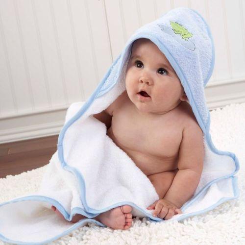 Baby Hooded Towels Cape De Bain Sortie Omslagdoek Met Mutsje Badcape Kapuzen Badetuch