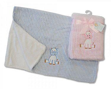 Baby Pram Blanket Cow