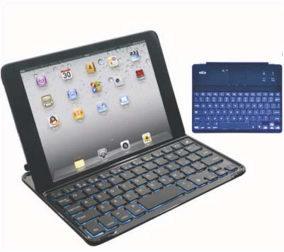 Backlight Thin Bluetooth Keyboard With Case Twnt Kb050