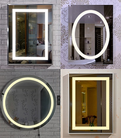 Backlit Mirror Led Lighted Illuminated With Defogger