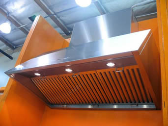 Baffle Range Hood Filters Absorb Oil Smoke And Prevent Fire