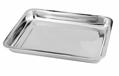Baking Trays With Non Stick Coating For Holding Food