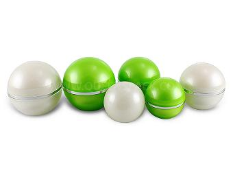 Ball Shape Cream Jar For Cosmetic Packaging