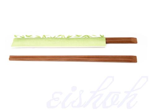 Bamboo Chopsticks Cyan Envelope