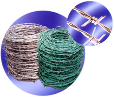 Barbed Wire Pvc Coated Galvanized