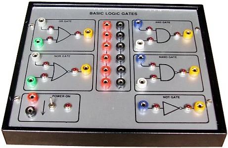Basic Logic Gates Using Diodes And Transistors Tla201a