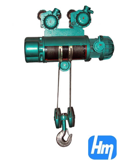 Bcd Model Explosion Proof Electric Hoist