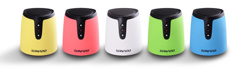 Beautiful Wireless Bluetooth Speaker With 5 Colors Available S12