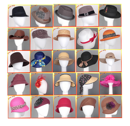 Beauty Hats For Women, Men, Children