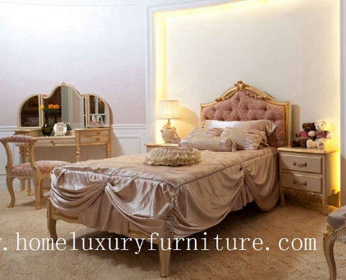 Beds Kids Bedroom Furniture Classical Queen Bed Solid Wood Wooden Fb 116