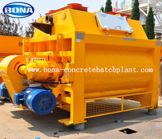 Belt Conveyor Concrete Mixer Js2000 Sicoma Cement Popular Used In German