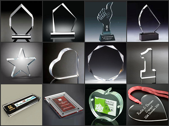 Best Selling Products 2016 Custom Engraved Acrylic Trophy Designs