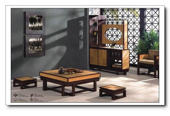 Better Homes Bamboo Wood Coffee Table Japanese Style