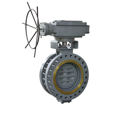 Bi Directional Metal Seated Butterfly Valve For Power Station