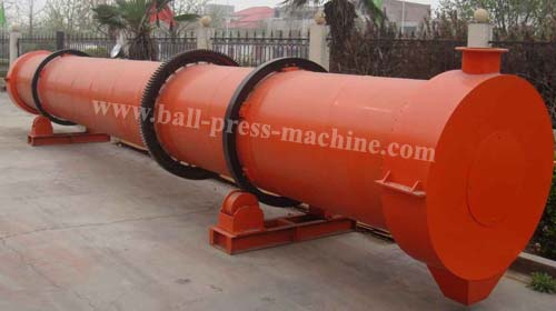 Big Capacity Drum Dryer Use For Mud Drying From Manufacturer