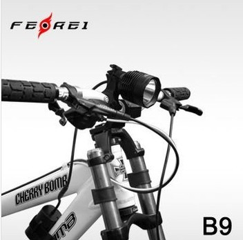 Bike Accessories Aluminum Led Front Light B9