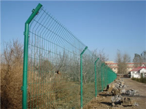 Bilateral Wire Fence Galvanized Plastic Or Pvc Coated