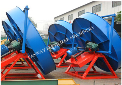 Bio Organic Fertilizer Production Line 20 000 Tons Year Pan Granulator