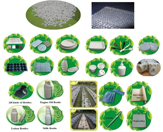 Biodegradable Material Products Ecopoly