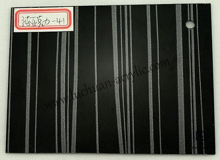 Black Decoration Acrylic Sheet 41