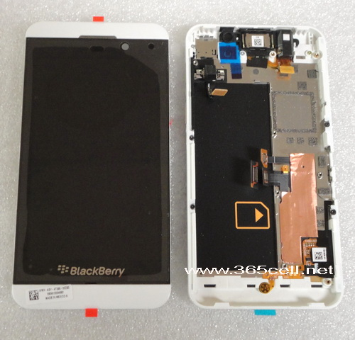 Blackberry Z10 4g Lcd And Digitizer Assembly With Frame