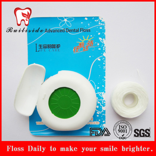 Blister Card Packing Circle Shape Dental Floss