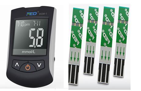 Blood Glucose Meter Test Strip Monitoring