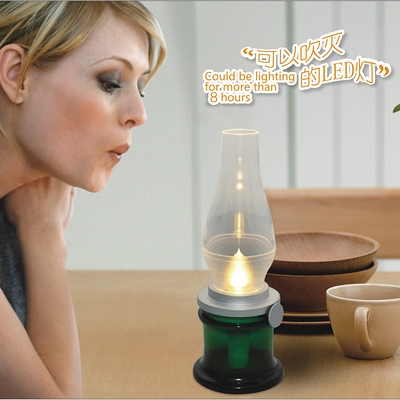 Blow Led Lamps Lamp Chimney Light