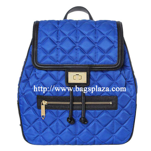 Blue Leisure Backpack Double Shoulder Bag Hd25 001