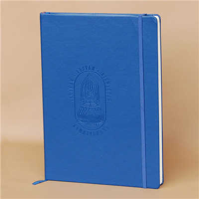 Blue Pu Cover Journal Notebook China Factory