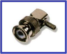 Bnc Male Angled Connector L9 1 6 5