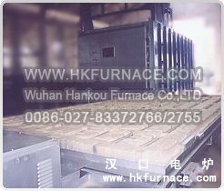 Bogie Hearth Ageing Electric Furnace