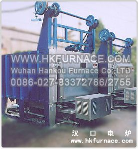 Bogie Hearth Mould Preheating Furnace