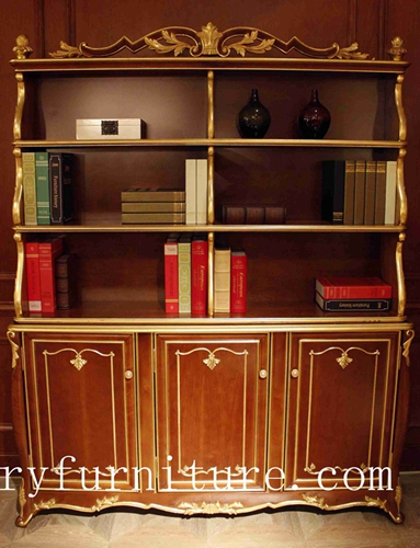 Book Cases Cabinet Solid Wood Shelf Chia Supplier Italy Style Fbs 168