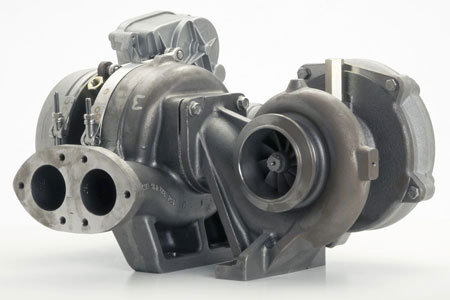 Borgwarner Tv5101 Turbocharger For Detroit Diesel Engine S60