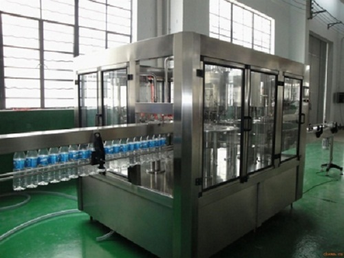 Bottled Mineral Water Filling Packing Line