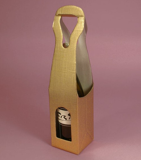Box With Hanger Hole For Wine