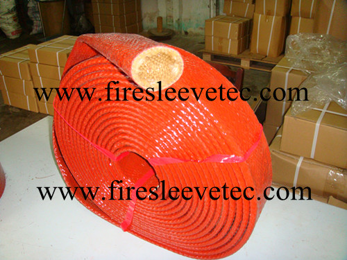 Braided Glass Fibre Sleeve Tubing