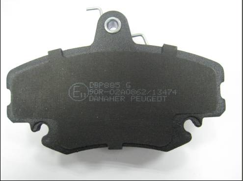 Brake Pad E Mark Semi Metallic