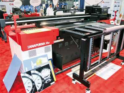 Brand New Agfa Anapurna Mw Hybrid Uv Printer 6 Colors