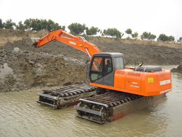 Brand New Amphibious Excavators