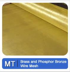 Brass And Phosphor Bronze Wire Mesh Metal Tec