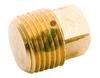 Brass Square Plug Adopter Nipple