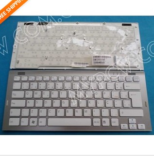 Brazil Keyboard Teclado Sony Vgn Sr White Color Frame 148088231 83000024 013 103a 8096 A 81 31405001