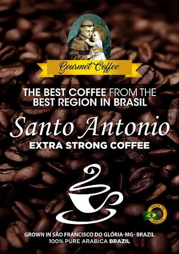 Brazilian Coffee Beans Green Roasted