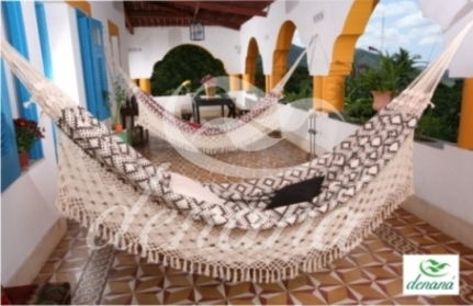 Brazilian Handwoven Cotton Fabrics Hammocks