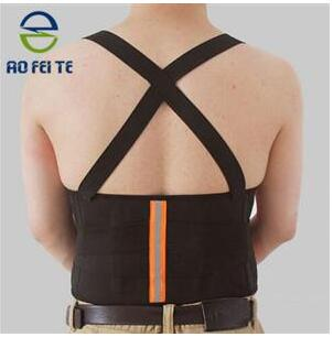 Breathable Mesh Fabric Elastic Mens Wasit Support Back Straightening Belt