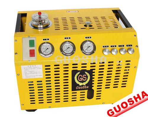 Breathing Apparatus Of High Pressure Air Compressor 300 Bar 30 Mpa 4500 Psi 300l Min 440v 60hz 380v